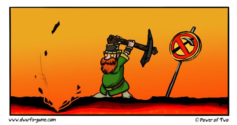 Dwarfs!? digging to deep!